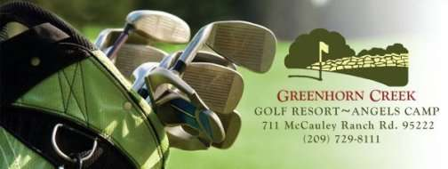 Greenhorn Creek Resort Golf Course In Angels Camp