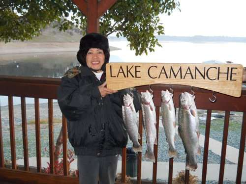 Lake Camanche Fishing