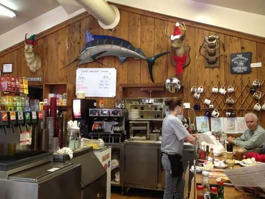 The Sportsman Coffee Shop in Twain Harte California