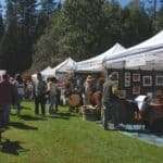 33rd Annual Summer Arts And Wine Festival In Twain Harte California
