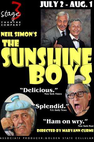 The Sunshine Boys at Stage 3 Theatre In Sonora