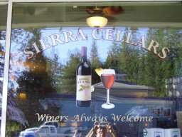 Sierra Cellars Wine Tasting In Twain Harte California