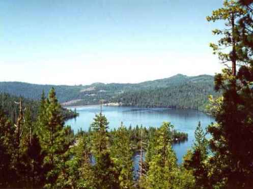 Cherry Lake In California