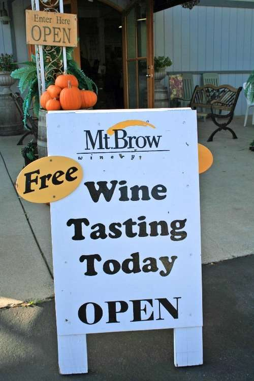 MT Brow Winery In Sonora California