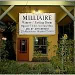 Milliaire Winery In Murphys California