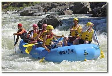 Sierra Mac River Rafting Trips In Groveland
