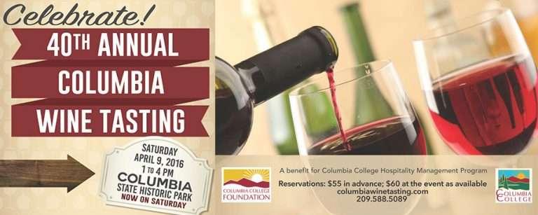Columbia Wine Tasting
