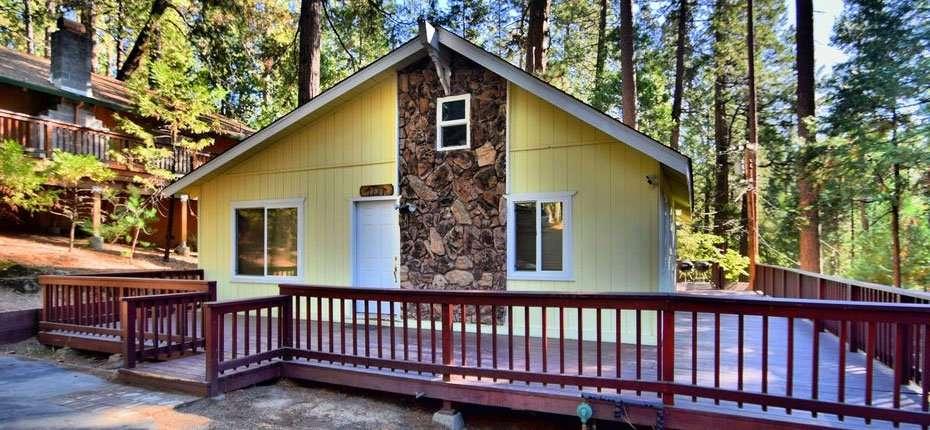 Twain Harte Vacation Rentals & Cabins - Fun Cabin Rentals